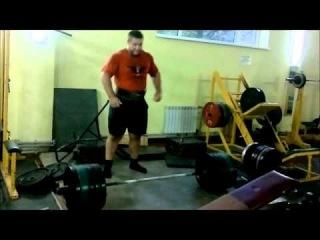 Michael Fedorov, 17 years old, hard training deadlifts (тяжелая тренировка тяги)