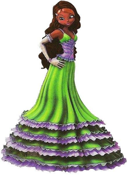 картинки лейлы в платьях шубе