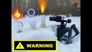 💣💥СУПЕР РОЗВЛЕЧЕНИЕ!ЧТО ПРОИЗОЙДЕТ С ЛАМПОЧКАМИ ПРИ ОБЖОГЕ???light bulb sun lamp experiment!!