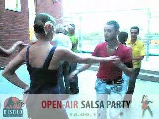 OPEN_air SALSA-PARTY from D'ESTILO