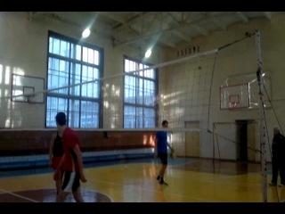Мой нападающий удар в волейболе