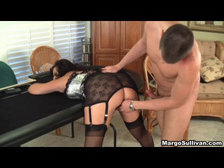 Mom son play strip poker