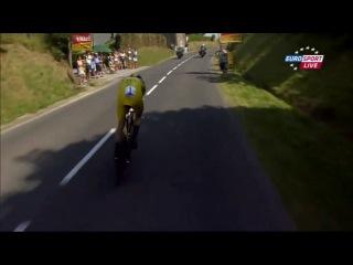 Тур де Франс 2013 11 этап 2 часть www.worldvelosport.com