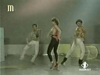 sabrina salerno topless singing and dancing 1984