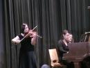 С. Цинцадзе - Хоруми. Исполняет Ивлева Полина. Концертмейстер Ксения Башмет.