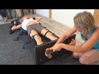 Emmy and carry introduce their extremely ticklish sister lorie - bare feet tickling