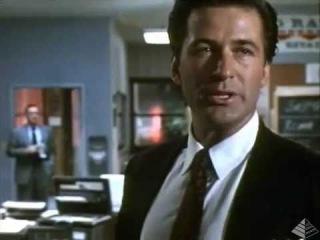 "Фрагмент ""Американцы"" (1992 г.).  Алек Болдуин Alec Baldwin"