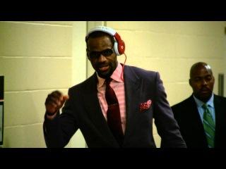 Phantom: LeBron James Arrives For Game 1 of the Finals