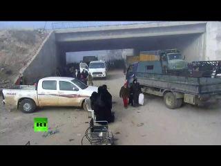 Второй день вывода мирных жителей из Алеппо