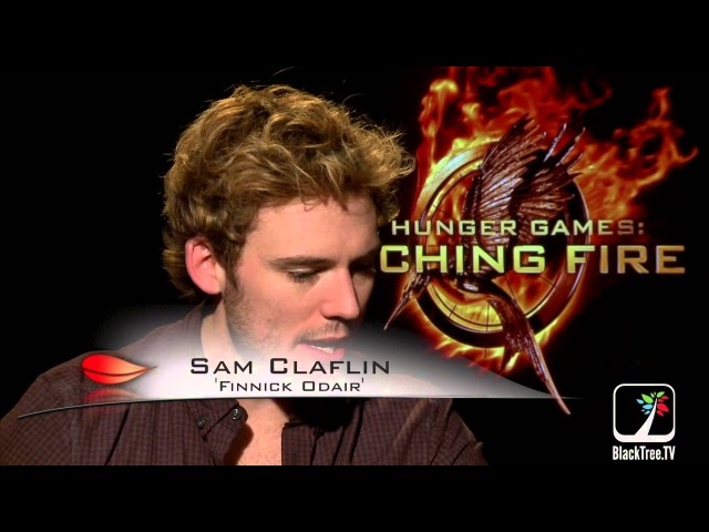 Catching Fire interviews w Sam Claflin and Jena Malone