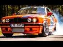 BMW E30 GRAND Turbo | Palenie Gumy | Drag Race | Burnout | GoPro