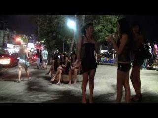 Pattaya walkingstreet 2012, walking round.