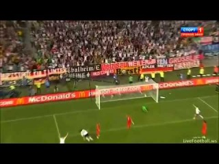 (FULL HD) Germany 1-0 Portugal - EURO2012 - 72' Mario Gomez 09/06/2012