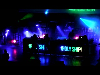 Major Lazer - Holy Ship 2013 - Heads will Roll / Jah No Partial / Pop That / Palance / Jump Around