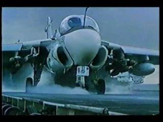 "Ударный самолёт ВМФ США Грумман A-6E ""Интрудер""."