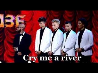 Владислав Рамм, Артем Пиндюра, Андрей Витвитский, Алибек Альмадиев - Cry me a river (Хочу к Меладзе)