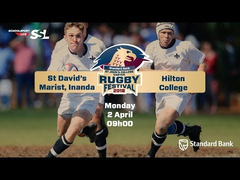 St Johns Rugby Festival 2018 - St David's Marist Inanda vs Hilton College, 02 April