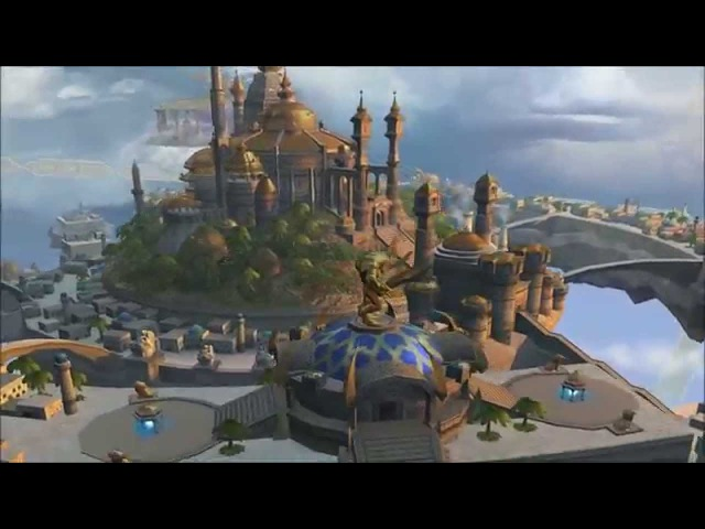 Heroes of Might Magic 5 Academy Town Theme Animatic (2005, Ubisoft/Nival) 1080p Animated