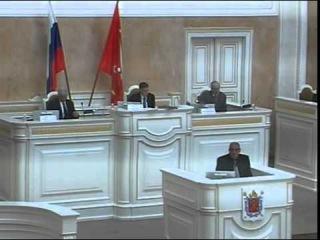 ЗакСобрание Петербурга утвердило нового вице-губернатора