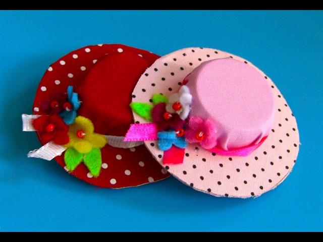 Fivela Chapeuzinho com Tampa de garrafa pet -Mini hat