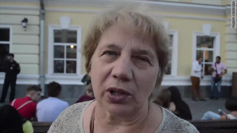 AzattyqTV Ресейдегі саяси тұтқындарды қолдау пикеті