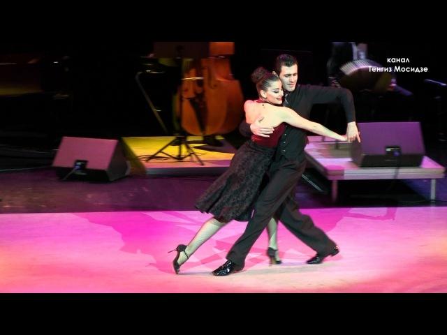 Milonga Flor de Monserrat Fernando Gracia and Sol Cerquides with Solo Tango orchestra Танго
