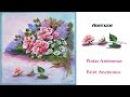 Lienzo composición con anemonas Painting Anemones