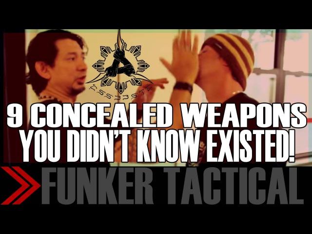 Дуг Маркаида 9 видов скрытого оружия о которых вы не подозревали Часть 1