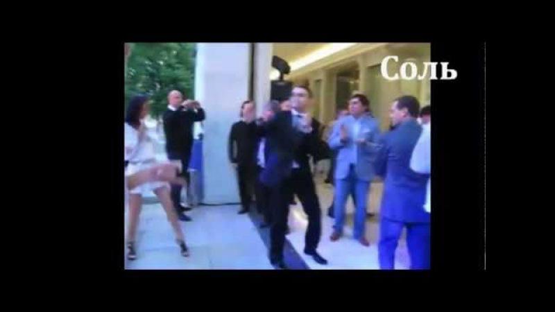 Медведев, Обама, Лукашенко и Лужков танцуют