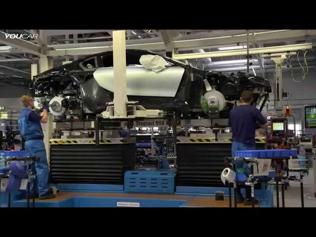 #Оффтоп_СекретыПерекупа   Увлекательное видео сборочного процесса BMW i8