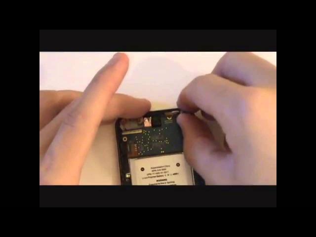 IPod touch 4 scherm gebroken reparatie