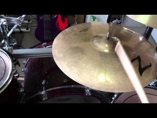 "Zildjian Z Series 20"" Heavy Power Ride and Light Power Ride Cymbal Comparison"