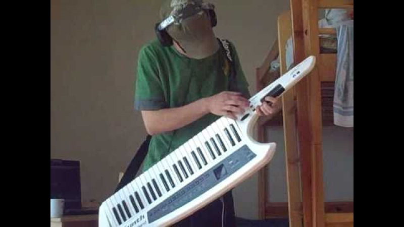 Best Keytar Solo! Little Wing on Ax Synth