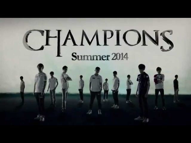 Hot6 LoL Champs Summer 2014 Opening Title