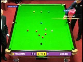 Snooker World Champ 2005 - 147 Maximum Break - Mark J Williams - HQ