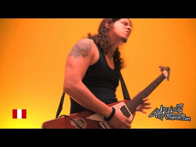 Charlie Parra del Riego Procrastination Melodic metal guitar