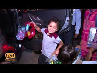 Aishwarya | Karishma | Shilpa | Attend Anu Dewan's Son Abhay's Exclusive Birthday Party | HD