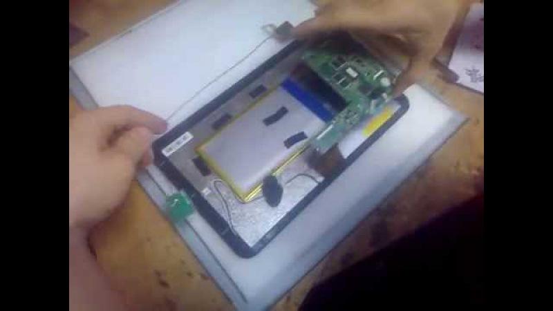 Встановлення сенсора на планшет GOGLEVER TAB R104