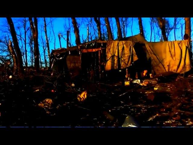 Видео с телефона убитого солдата ВСУ. Под Дебальцево 17 февраль 2015