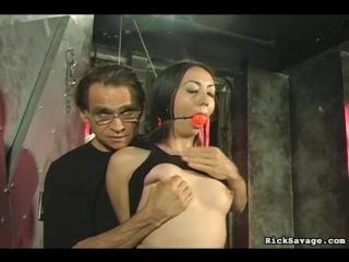 Pin cushion tits madison bdsm bondage maledom