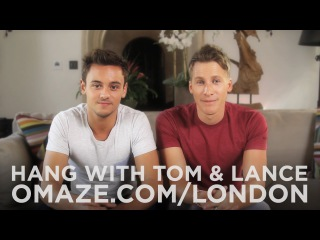 Tom Daley and Dustin Lance Black Invite You on a Double Date in London / Omaze