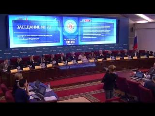 73-е заседание ЦИК Российской Федерации 8 февраля 2017 года