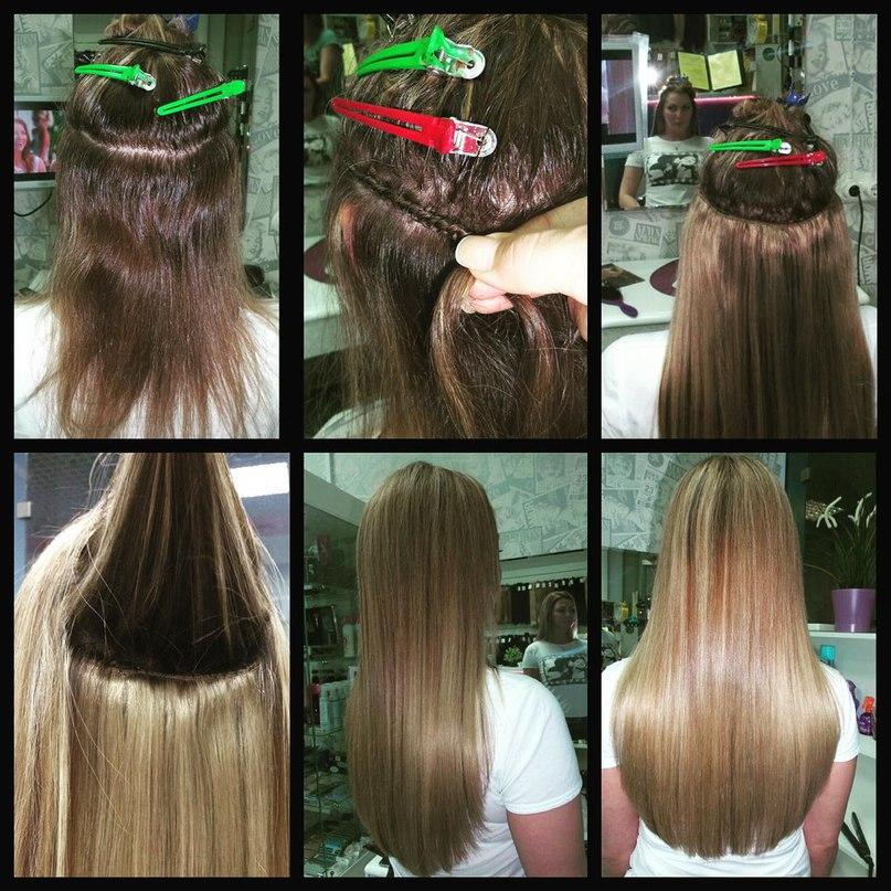 порой нелегко нарощенные волосы до и после фото отзывы так