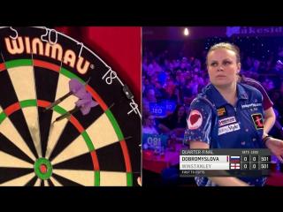Lorraine Winstanley vs Anastasia Dobromyslova (BDO World Darts Championship 2017 / Quarter Final)