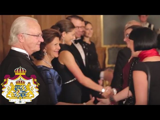 Sverigemiddag på Kungliga slottet
