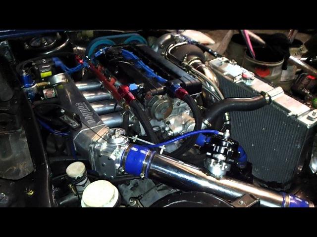 SATRIA EVO 3 4G63 STROKER GARRET GT40 RUNNING IN by Zaki Spec