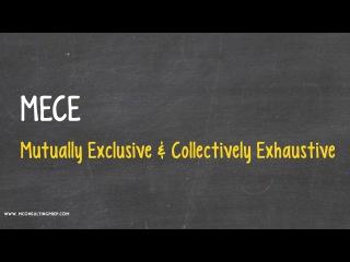 MECE - Consulting Case Interview Prep