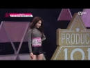 [Produce 101] Perfect Singing and Dancing! MH Oh Seo Jung, Kim Chung Ha - ♬24 Hours EP.02 20160219 (online-video-cutter)