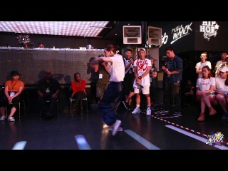 Waacking 1on1 Semifinal-2 Mr BoBo vs Calin | 20160730  x C'est La WAACK