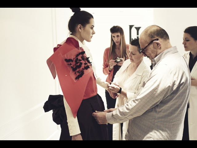 A TRIBUTE TO ELSA A HAUTE COUTURE COLLECTION by Monsieur Monsieur CHRISTIAN LACROIX The making of